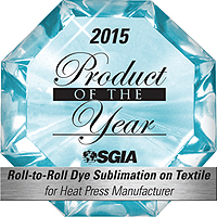 Product of the Year Award - SGIA 2015
